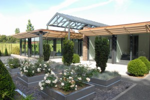 glazen huis-nieuwbouw-'s Gravezande